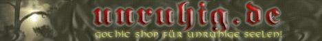 Unruhig - Gothicshop